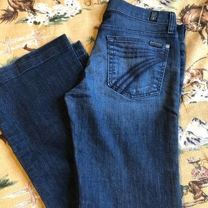 7 for all mankind, dojo jeans